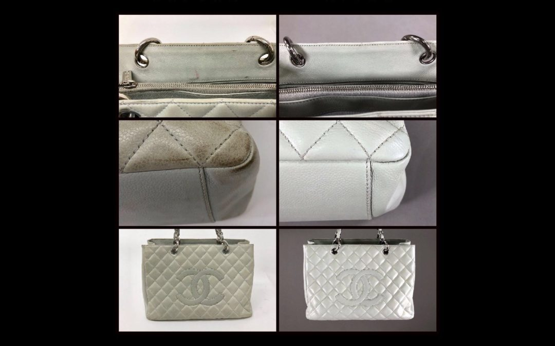 Chanel Handbag Restoration Before & After