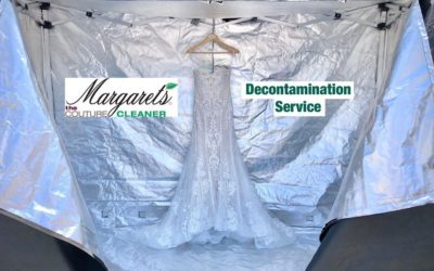 NEW Bridal Gown Decontamination Service at Margaret's Cleaners